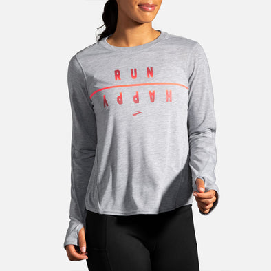 Brooks Distance Graphic Long Sleeve Women's