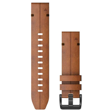 Garmin QuickFit 22mm Chesnut Leather Band
