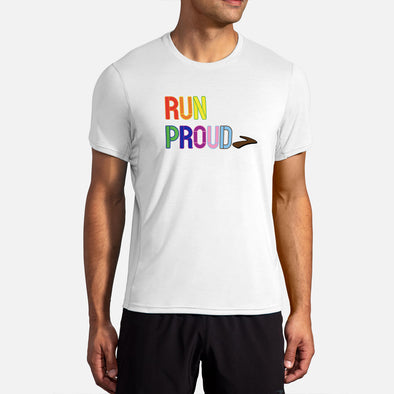 Brooks Distance Graphic Short Sleeve Men's