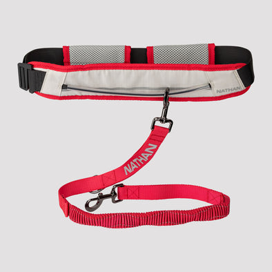 Nathan K9 Series Runner's Waistbelt with Leash
