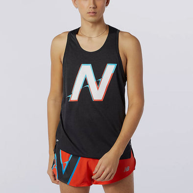 New Balance Printed Impact Run Singlet Men's