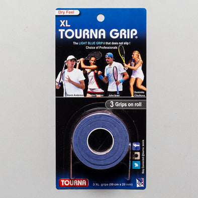 Tourna Grip XL Overgrips 3 Pack