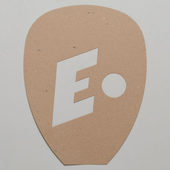 E-Force Racquetball Racquet Stencil