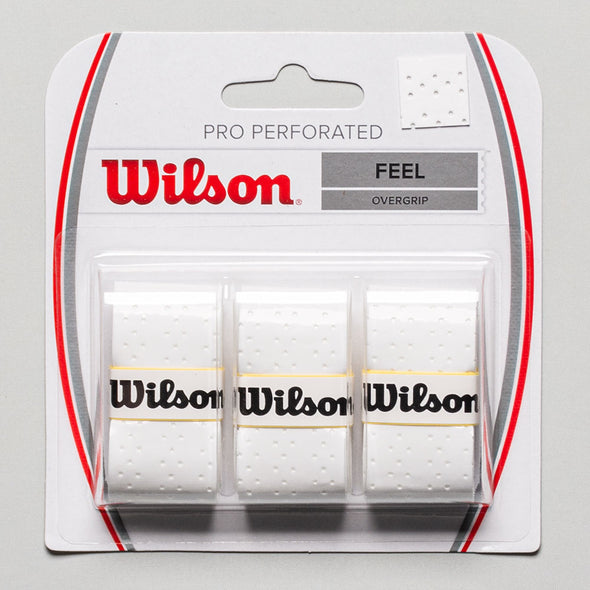 Wilson Pro Overgrip Perforated 3 Pack