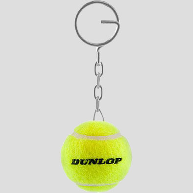 Dunlop Tennis Ball Keychain