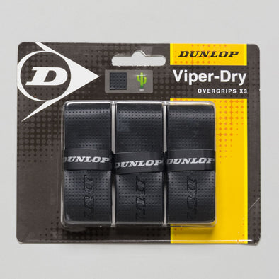 Dunlop Viper Dry Overgrip 3Pk