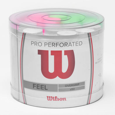 Wilson Pro Overgrip Perforated 60 Pack Bucket
