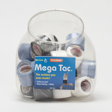 Tourna Mega Tac Overgrips Jar of 36