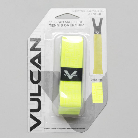Vulcan Max Tour Overgrip 3 Pack