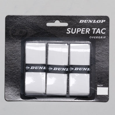 Dunlop Super Tac Overgrip 3 Pack