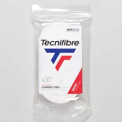 Tecnifibre Pro Contact Overgrip 30 Pack