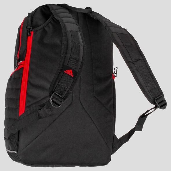 adidas Tour Tennis Backpack Black/White/Scarlet