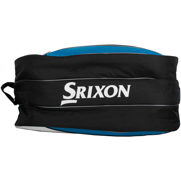 Dunlop Srixon 12 Racquet Bag Blue/White/Black