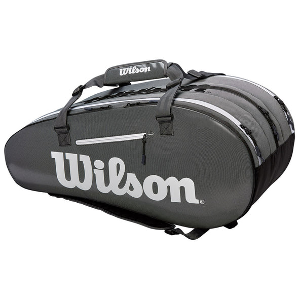 Wilson Super Tour 3 Compartment Black/Gray