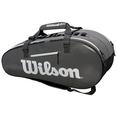 Wilson Super Tour 2 Compartment Large Black/Gray