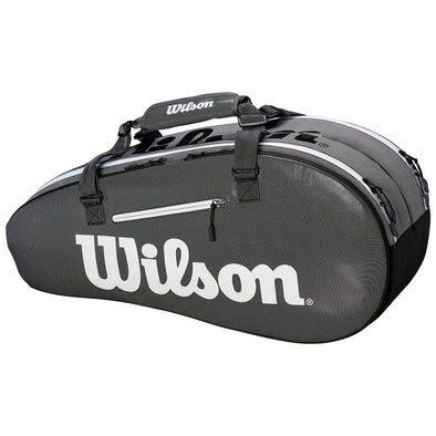 Wilson Super Tour 2 Compartment Small Black/Gray