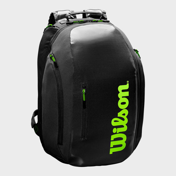 Wilson Super Tour Backpack Black/Green