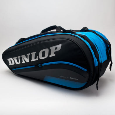 Dunlop FX Performance 12 Racquet Bag Black/Blue