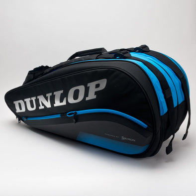 Dunlop FX Performance 8 Racquet Bag Black/Blue