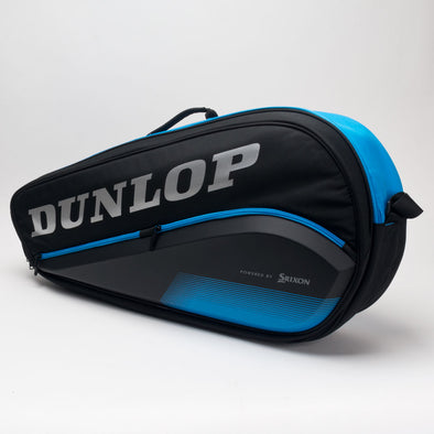 Dunlop FX Performance 3 Racquet Bag Black/Blue