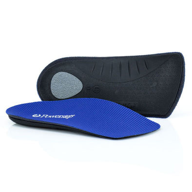 Powerstep SlimTech 3/4 Length Insoles