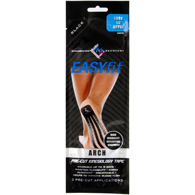 Mueller EASYfit Pre-Cut Kinesiology Tape Arch Support 3 Pack