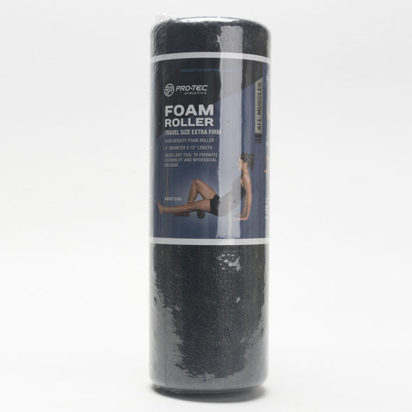 "Pro-Tec Foam Roller Travel Size Extra Firm 4""x 12"""