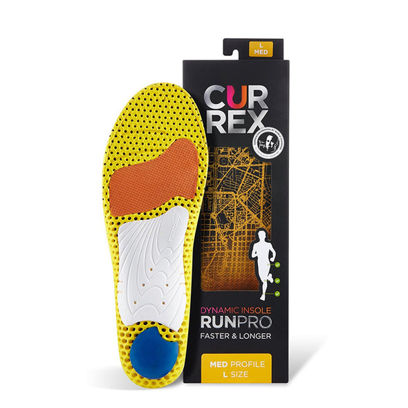 currex RunPRO Medium Arch Insoles