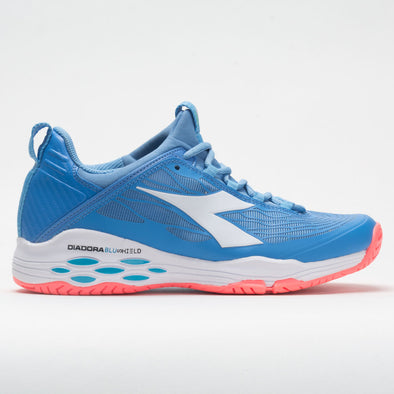 Diadora Speed Blushield Fly AG Women's Iris Blue/Fluo Coral/White
