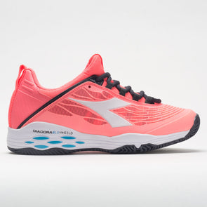 Diadora Speed Blushield Fly Clay Women's  Fluo Coral/White
