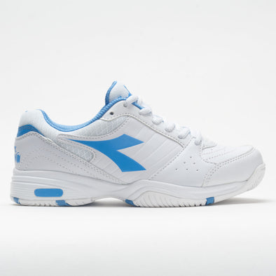 Diadora Smash Women's White/Iris Blue