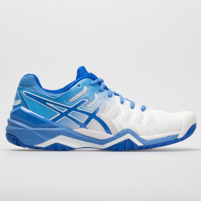 ASICS GEL-Resolution 7 Women's White/Blue Coast