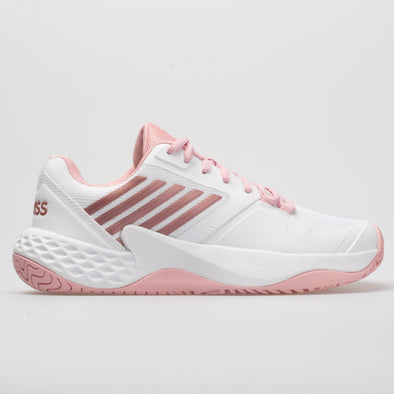f652225d7abb K-Swiss Aero Court Women s White Coral Blush