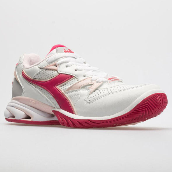 Diadora Speed Star K Ace AG Women's White/Red/Virtual Pink