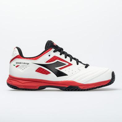 Diadora Speed Challenge 2 AG Men's White/Red/Black