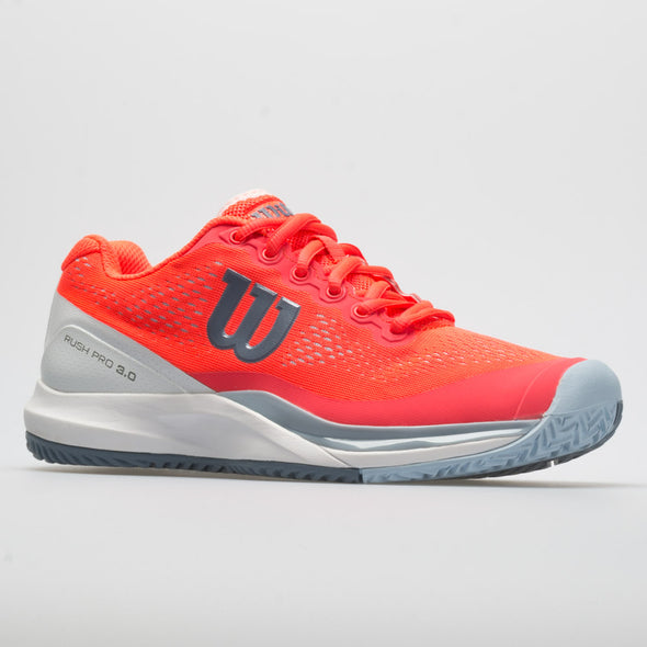 Wilson Rush Pro 3.0 Women's Fiery Coral/White/Cashmere Blue