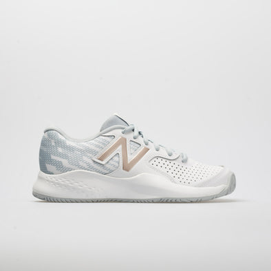 New Balance 696v3 Women's White/Rose Gold