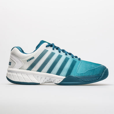 K-Swiss Hypercourt Express Men's White/Corsair/Spring Bud