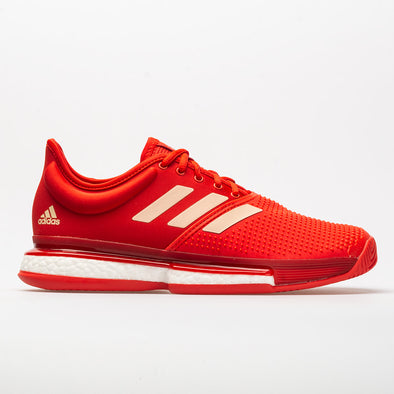 adidas SoleCourt Boost Women's Active Red/Soft Powder/Scarlet