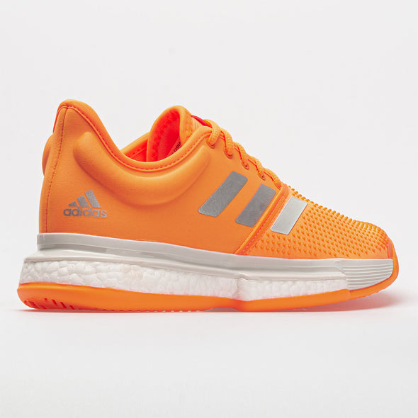 adidas SoleCourt Boost Women's Flash Orange/White/Gray