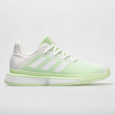 adidas SoleMatch Bounce Women's White/White/Glow Green