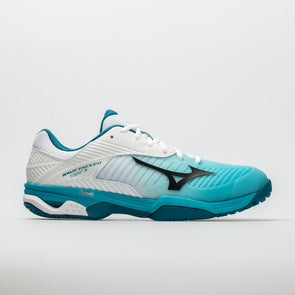 Mizuno Wave Exceed Tour 3 Men's White/Peacock Blue