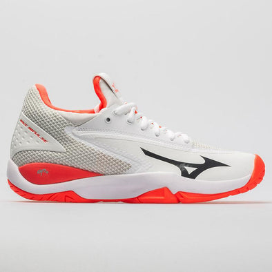 Mizuno Wave Impulse Women's White/Fiery Coral