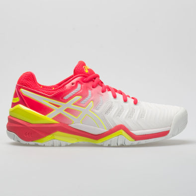 ASICS GEL-Resolution 7 Women's White/Laser Pink