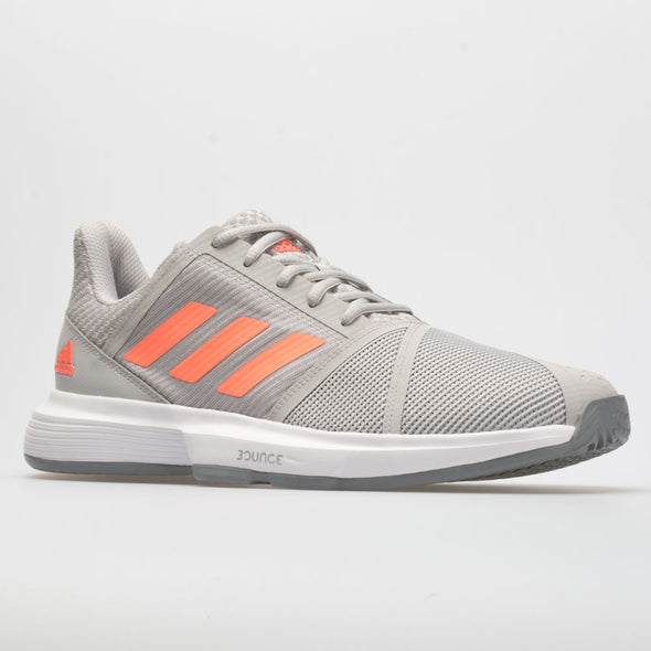 adidas CourtJam Bounce Women's Gray/Signal Coral/Gray