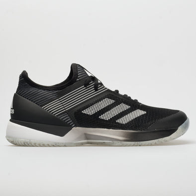 adidas adizero Ubersonic 3 Clay Women's Core Black/White/Core Black