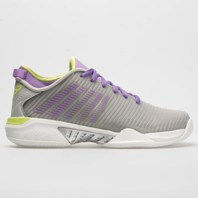 K-Swiss Hypercourt Supreme Women's Silver/Fairy Wren/Sharp Green