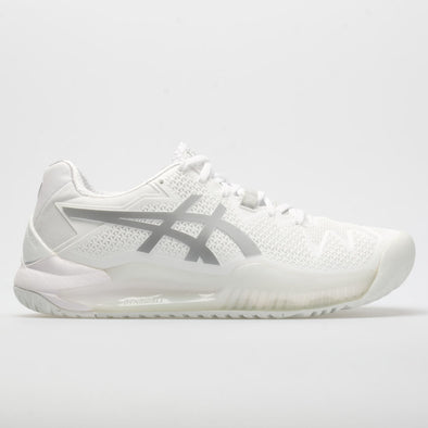 ASICS GEL-Resolution 8 Women's White/Pure Silver