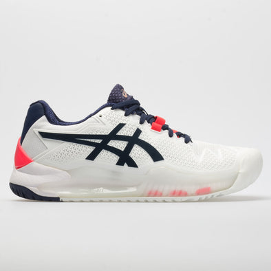 ASICS GEL-Resolution 8 Women's White/Peacoat