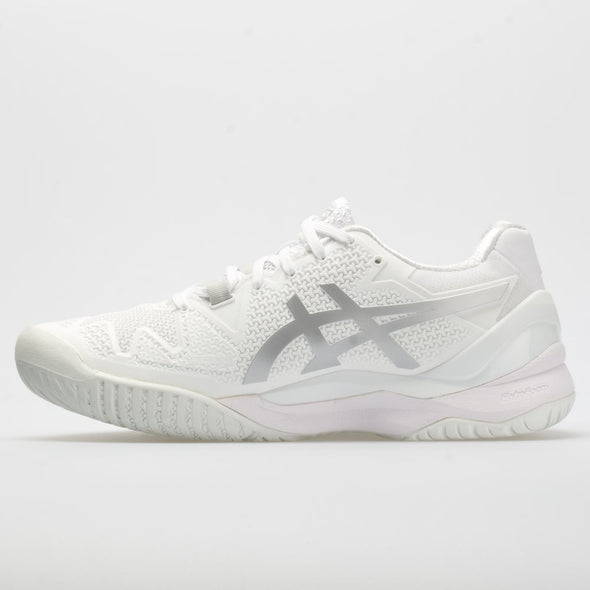 ASICS GEL-Resolution 8 Men's White/Pure Silver